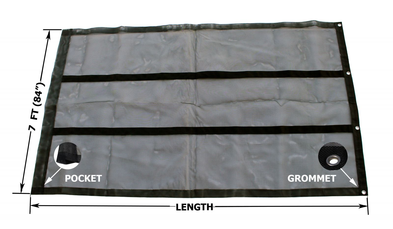how to put grommets in a tarp